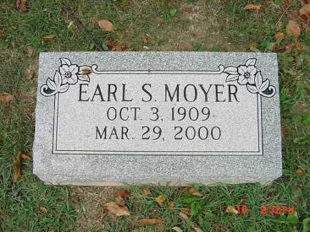 MOYER, EARL S. - Carroll County, Ohio | EARL S. MOYER - Ohio Gravestone Photos