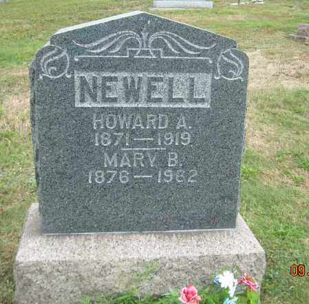 NEWELL, MARY B - Carroll County, Ohio | MARY B NEWELL - Ohio Gravestone Photos