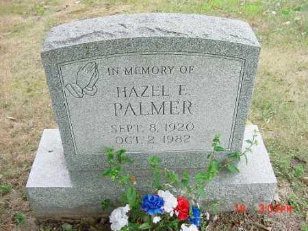 PALMER, HAZEL E. - Carroll County, Ohio | HAZEL E. PALMER - Ohio Gravestone Photos