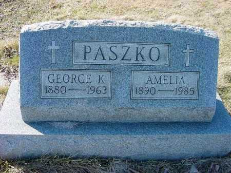 PASZKO, GEORGE K. - Carroll County, Ohio | GEORGE K. PASZKO - Ohio Gravestone Photos