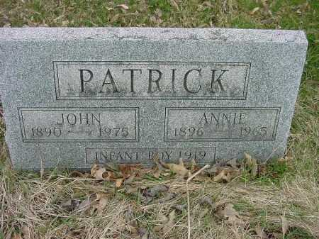PATRICK, INFANT - Carroll County, Ohio | INFANT PATRICK - Ohio Gravestone Photos