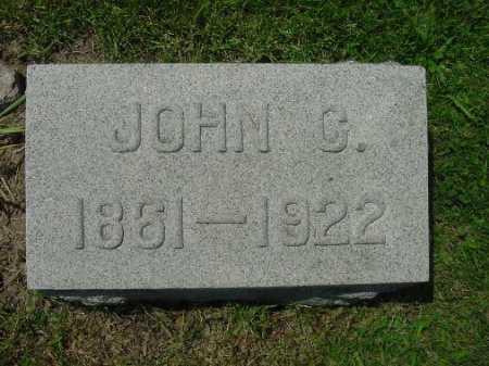PATTERSON, JOHN C. - Carroll County, Ohio | JOHN C. PATTERSON - Ohio Gravestone Photos