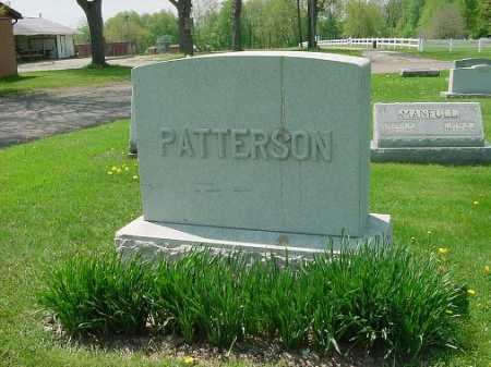 PATTERSON, MONUMENT - Carroll County, Ohio | MONUMENT PATTERSON - Ohio Gravestone Photos