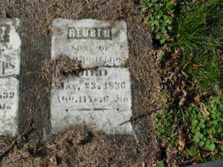 PHILLIPS, REUBEN - Carroll County, Ohio | REUBEN PHILLIPS - Ohio Gravestone Photos