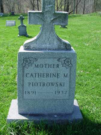MITCHEL PIOTROWSKI, CATHERINE M. - Carroll County, Ohio | CATHERINE M. MITCHEL PIOTROWSKI - Ohio Gravestone Photos
