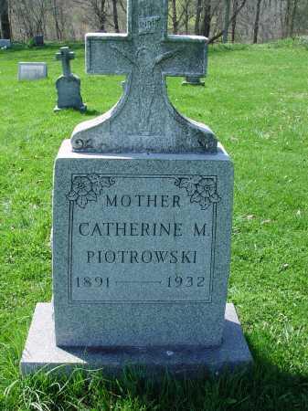 PIOTROWSKI, CATHERINE M. - Carroll County, Ohio | CATHERINE M. PIOTROWSKI - Ohio Gravestone Photos