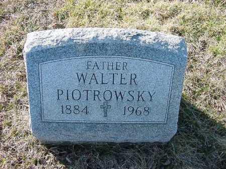 PIOTROWSKY, WALTER - Carroll County, Ohio | WALTER PIOTROWSKY - Ohio Gravestone Photos