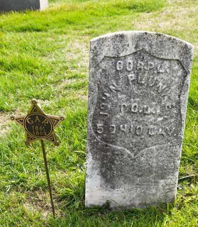 PLUNKET, JOHN - Carroll County, Ohio | JOHN PLUNKET - Ohio Gravestone Photos