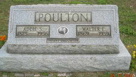 POULTON, ADDIE S - Carroll County, Ohio | ADDIE S POULTON - Ohio Gravestone Photos