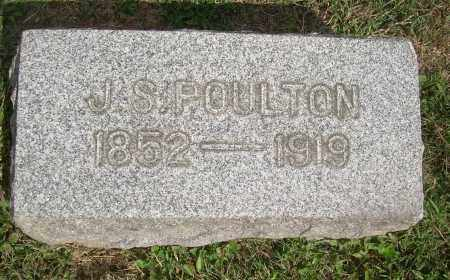 POULTON, JOSIAH SCOTT - Carroll County, Ohio | JOSIAH SCOTT POULTON - Ohio Gravestone Photos