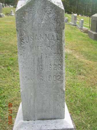 POULTON, SUSANNA - Carroll County, Ohio | SUSANNA POULTON - Ohio Gravestone Photos