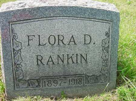 RANKIN, FLORA D. - Carroll County, Ohio | FLORA D. RANKIN - Ohio Gravestone Photos