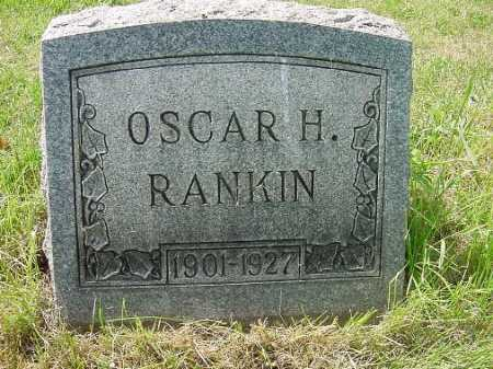 RANKIN, OSCAR H. - Carroll County, Ohio | OSCAR H. RANKIN - Ohio Gravestone Photos