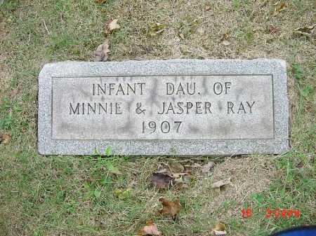 RAY, INFANT DAUGHTER - Carroll County, Ohio | INFANT DAUGHTER RAY - Ohio Gravestone Photos