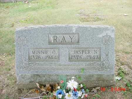 RAY, JASPER N - Carroll County, Ohio | JASPER N RAY - Ohio Gravestone Photos