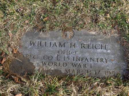 REICH, WILLIAM - Carroll County, Ohio | WILLIAM REICH - Ohio Gravestone Photos