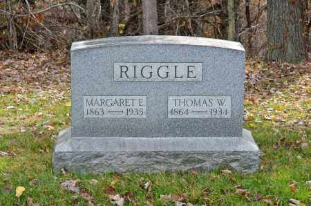 RIGGLE, MARGARET EMMA - Carroll County, Ohio | MARGARET EMMA RIGGLE - Ohio Gravestone Photos