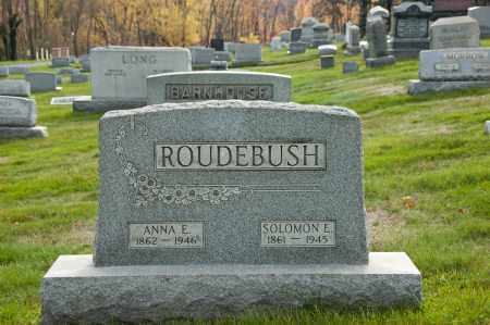 ROUDEBUSH, SOLOMON E. - Carroll County, Ohio | SOLOMON E. ROUDEBUSH - Ohio Gravestone Photos