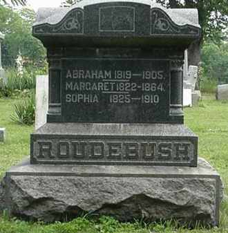 ROUDEBUSH, SOPHIA - Carroll County, Ohio | SOPHIA ROUDEBUSH - Ohio Gravestone Photos