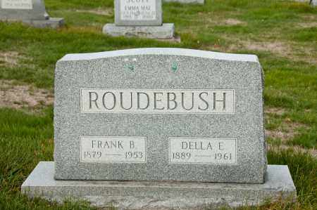 BIRCH ROUDEBUSH, DELLA EDITH - Carroll County, Ohio | DELLA EDITH BIRCH ROUDEBUSH - Ohio Gravestone Photos