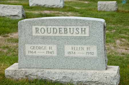 ROUDEBUSH, GEORGE H. - Carroll County, Ohio | GEORGE H. ROUDEBUSH - Ohio Gravestone Photos