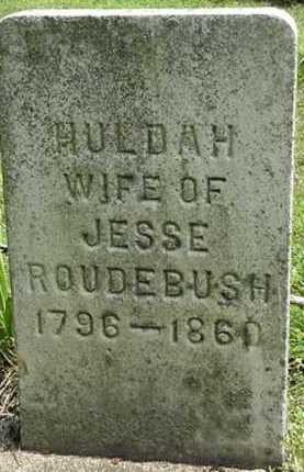 RAY ROUDEBUSH, HULDA - Carroll County, Ohio | HULDA RAY ROUDEBUSH - Ohio Gravestone Photos