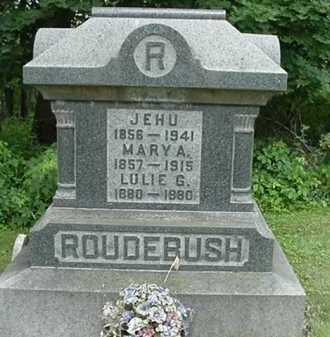 ROUDEBUSH, JEHU - Carroll County, Ohio | JEHU ROUDEBUSH - Ohio Gravestone Photos
