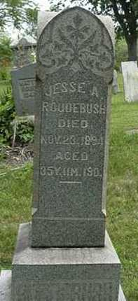 ROUDEBUSH, JESS A. - Carroll County, Ohio | JESS A. ROUDEBUSH - Ohio Gravestone Photos