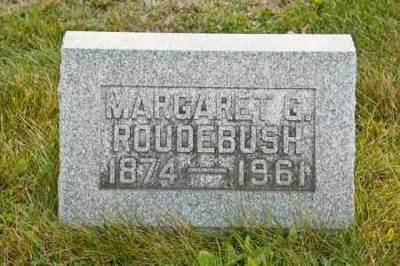 SHEPHERD ROUDEBUSH, MARGARET GERTRUDE - Carroll County, Ohio | MARGARET GERTRUDE SHEPHERD ROUDEBUSH - Ohio Gravestone Photos