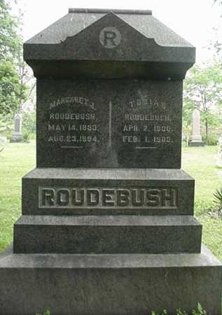 MICK ROUDEBUSH, MARGARET A. - Carroll County, Ohio | MARGARET A. MICK ROUDEBUSH - Ohio Gravestone Photos