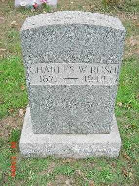 RUSH, CHARLES WESLEY - Carroll County, Ohio | CHARLES WESLEY RUSH - Ohio Gravestone Photos