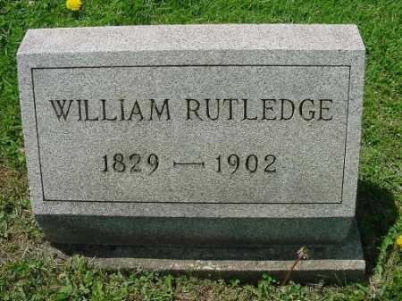RUTLEDGE, WILLIAM - Carroll County, Ohio | WILLIAM RUTLEDGE - Ohio Gravestone Photos
