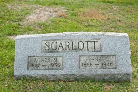 SCARLOTT, FRANK E. - Carroll County, Ohio | FRANK E. SCARLOTT - Ohio Gravestone Photos