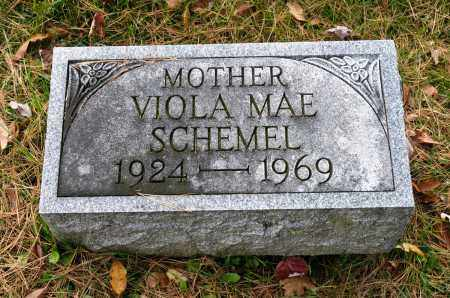 SCHEMEL, VIOLA MAE - Carroll County, Ohio | VIOLA MAE SCHEMEL - Ohio Gravestone Photos