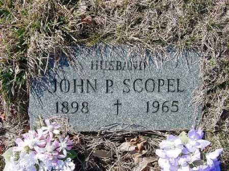 SCOPEL, JOHN P. - Carroll County, Ohio | JOHN P. SCOPEL - Ohio Gravestone Photos