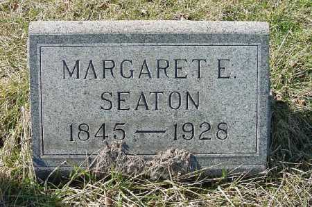 SEATON, MARGARET E. - Carroll County, Ohio | MARGARET E. SEATON - Ohio Gravestone Photos