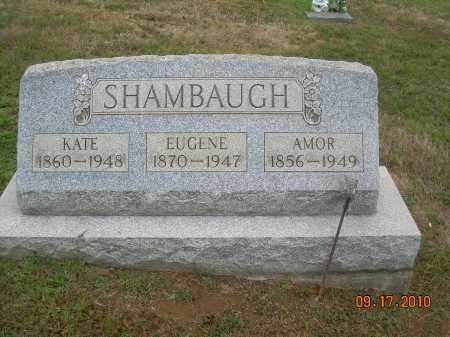 SHAMBAUGH, KATE - Carroll County, Ohio | KATE SHAMBAUGH - Ohio Gravestone Photos