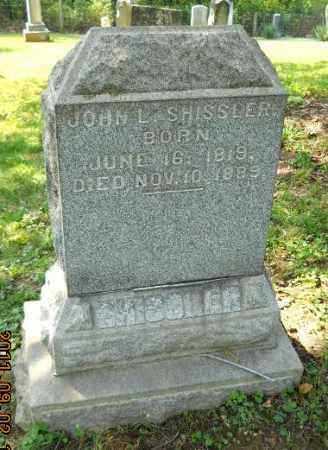 SHISSLER, JOHN L - Carroll County, Ohio   JOHN L SHISSLER - Ohio Gravestone Photos