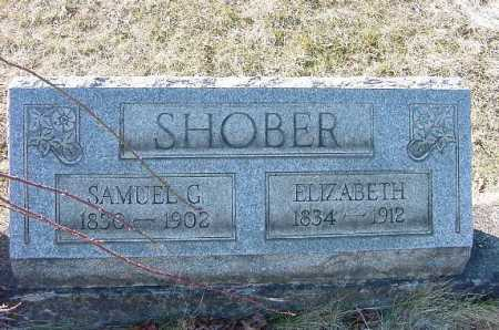 SHOBER, SAMUEL G. - Carroll County, Ohio | SAMUEL G. SHOBER - Ohio Gravestone Photos