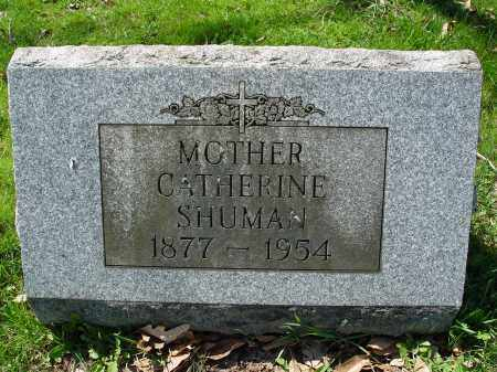 SHUMAN, CATHERINE - Carroll County, Ohio | CATHERINE SHUMAN - Ohio Gravestone Photos