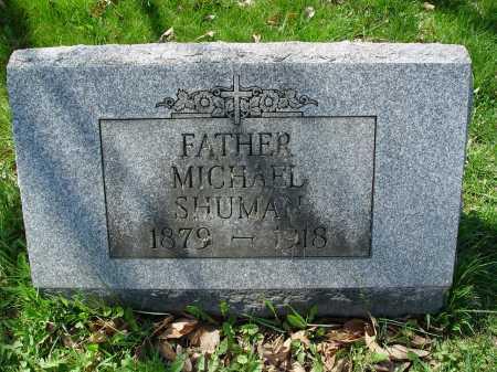 SHUMAN, MICHAEL - Carroll County, Ohio | MICHAEL SHUMAN - Ohio Gravestone Photos