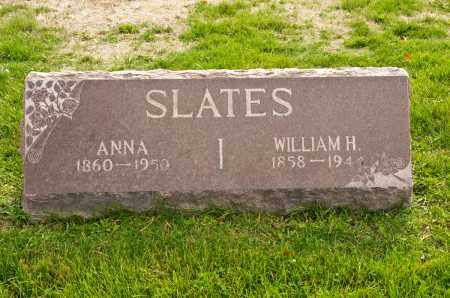 SLATES, ALICE ANNA - Carroll County, Ohio | ALICE ANNA SLATES - Ohio Gravestone Photos