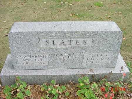 SLATES, ZACHARIAH - Carroll County, Ohio | ZACHARIAH SLATES - Ohio Gravestone Photos