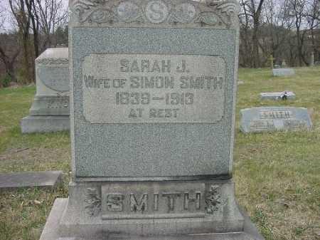 SMITH, SARAH J. - Carroll County, Ohio | SARAH J. SMITH - Ohio Gravestone Photos