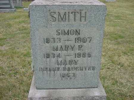 SMITH, MARY P - Carroll County, Ohio | MARY P SMITH - Ohio Gravestone Photos