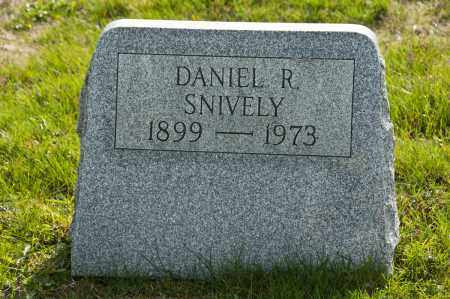 SNIVELY, DANIEL R. - Carroll County, Ohio | DANIEL R. SNIVELY - Ohio Gravestone Photos