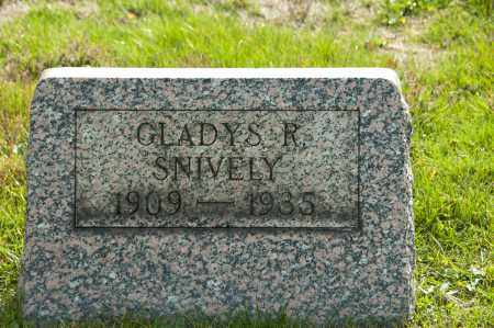 SNIVELY, GLADYS R - Carroll County, Ohio | GLADYS R SNIVELY - Ohio Gravestone Photos