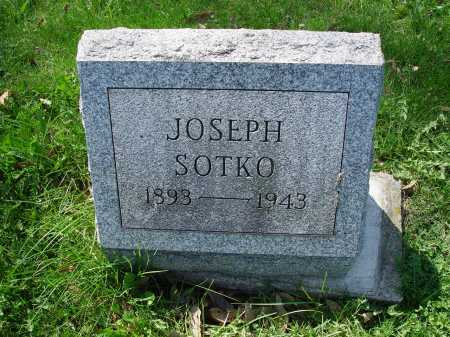 SOTKO, JOSEPH - Carroll County, Ohio | JOSEPH SOTKO - Ohio Gravestone Photos