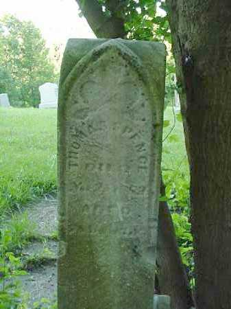 SPENCE, THOMAS - Carroll County, Ohio | THOMAS SPENCE - Ohio Gravestone Photos