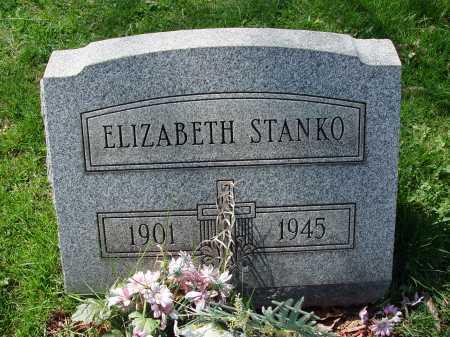 STANKO, ELIZABETH - Carroll County, Ohio | ELIZABETH STANKO - Ohio Gravestone Photos